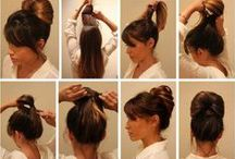 HAIRSTYLE INSPIRATION / DIY