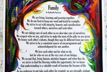 Mom, Dad, Sisters, Brothers / Poems and blessings by Raphaella Vaisseau and others celebrating family relationships