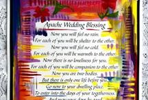 Wedding Ideas / Heartful Art gifts by Raphaella Vaisseau for the bride and groom, the wedding party, and parents of the wedding couple, plus ideas for wedding favors and creations by other artists and friends