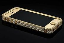 Gadgets I love / exclusive iphone and ipad with gold and diamonds