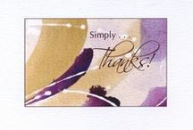 """Thank You Cards / The perfect #thank you cards for any occasion. Send them or gift someone with a box of six (5"""" x 7"""") or eight (5.5"""" x 4"""") #cards."""
