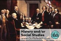 History and/or Social Studies / Teaching ideas and resources for social studies and/or history.
