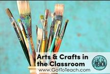 Arts and Crafts in the Classroom / Art lessons and ideas for the not-so-artsy teacher.