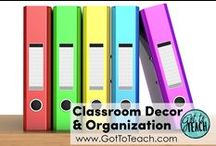 Classroom Decor and Organization / Decorating and organizational ideas for the classroom.