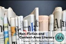 Nonfiction and Content-Area Literacy / Teaching ideas and resources for nonfiction text and content-area literacy.