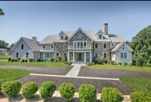 Transitional New Construction Fairfield, CT / Transitional New Construction in Fairfield, Connecticut. Built by Tallman Segerson Builders @ tallmansegerson.com and designed by Bob Chagnon Residential Design.