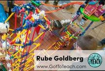 Rube Goldberg / Rube Goldberg junkies check this out!