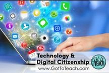 Technology and Digital Citizenship / Ideas and resources for integrating technology in the classroom, while teaching students to be responsible digital citizens.