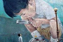 Graffiti & Street Art / Außergewöhnliche Graffiti-Kunst & Street Art