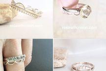 Rings from Resa Wilkinson / Gemstone and diamond rings