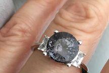 ENGAGEMENTS / Engagement rings diamond halo gemstone engagements