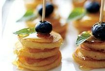 Brunch Inspiration / Ideas and Inspiration for Brunch Recipes and Catering