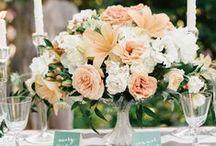 Floral Centerpieces / Inspiration for creative table centerpieces