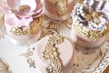 Blush and gold / Inspiration for a colour scheme that will be big in 2015