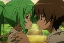 Mion X Keiichi / From the serie Higurashi