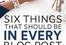 Blogging Better / Blog Advice | Blogging Tips and Tricks | How to blog better | Increase Blogging Pageviews
