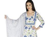 Cotton Classics - block printed salwar kameez suits