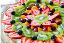 Recipes with Fruit / Fruit filled recipes to get your daily dose of fruit!
