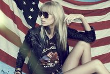 Pattern Style | American flag / American flag fashion items and american flag style photo.