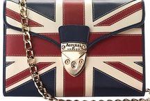 Pattern Style | British flag / Union jack, UK, British flag fashion items.