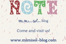 Note - MiMiSol Blog / Visit our beautiful blog, Note