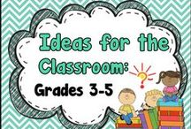 Ideas for the Classroom - Grades 3-5 / A place for teachers to get teaching ideas for lessons, projects, activities, and find some great TPT products (free & paid). Pinners, please pin at least one non product-related teaching idea for each free or paid product that you pin here.