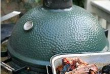 """Big Green Egg """"know how"""" / How to change a gasket, or how to use a plate setter.  When to use smoking chips, and what accessories you should buy.  This board has what you need to know when you get a big green egg."""