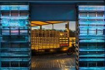 Terraza Il Rosso Puerto / Proyecto de Ranchal Arquitectos de la terraza Il Rosso Puerto en Valencia. Elementos Vintage, decoración con Palets, iluminación...
