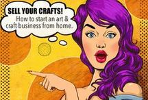 Start Your Craft Business / Start selling your art and crafts in easy steps. Learn to sell online from your home based craft store. Start from the scratch and get set up in just 15 days, to make a regular income from home.