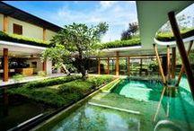 Arquitectura ecológica y sostenible / Proyectos arquitectónicos que se basan en la idea de espacio sostenible y ecológico