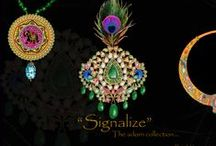 "Signalized ""The adorn collection"". / Designed by vikas soni.Vikas Soni jewellery Design studio ,Choura Rasta jaipur Rajasthan india cell-+919887129440 (Whatsapp) email- vikassonidesigner@gmail.com"