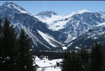 Winter Mountain Walks / Winter Walking Trails in Arosa