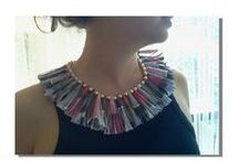 Paper Jewellery / Gioielli di carta