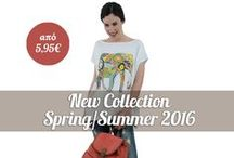 New Collection Spring/Summer 2016 με Έκπτωση από 5,95€! / New Collection Spring/Summer 2016 με Έκπτωση από 5,95€!