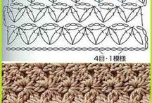 Stitches and  patterns