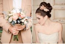 Peach Colour Schemes / Wedding Mood Boards