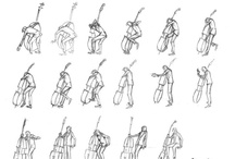 Character Pose   Musicians / Enjoy a selection of illustrations, sketches, model sheets and tutorials by various artists, collected by Character Design References™ and shown here for educational and inspirational purposes only. Every artwork remain the property of the respective © copyright holders, should inclusion of specific work offend any of you in some way, please contact us on → characterdesignreferences.com