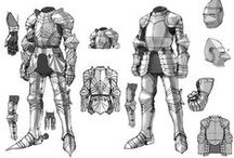 Character Outfit   Armours / Enjoy a selection of illustrations, sketches, model sheets and tutorials by various artists, collected by Character Design References™ and shown here for educational and inspirational purposes only. Every artwork remain the property of the respective © copyright holders, should inclusion of specific work offend any of you in some way, please contact us on → characterdesignreferences.com