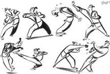 Character Pose   Martial Arts / Enjoy a selection of illustrations, sketches, model sheets and tutorials by various artists, collected by Character Design References™ and shown here for educational and inspirational purposes only. Every artwork remain the property of the respective © copyright holders, should inclusion of specific work offend any of you in some way, please contact us on → characterdesignreferences.com