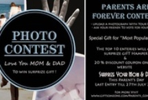 Parents are forever  / Upload a photograph With Your Parents. Ask your friends To vote for your photo  The top 10 enteries will get  Surprise Gift Hamper &  20 % discount coupon on our website  Surprize Your Mom & DaD This Parent's Day Last Entry till 20th July 2013