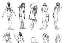 Character Pose    Back Poses / Enjoy a selection of illustrations, sketches, model sheets and tutorials by various artists, collected by Character Design References™ and shown here for educational and inspirational purposes only. Every artwork remain the property of the respective © copyright holders, should inclusion of specific work offend any of you in some way, please contact us on → characterdesignreferences.com