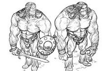 Character Outfit   Barbarians & Vikings / Enjoy a selection of illustrations, sketches, model sheets and tutorials by various artists, collected by Character Design References™ and shown here for educational and inspirational purposes only. Every artwork remain the property of the respective © copyright holders, should inclusion of specific work offend any of you in some way, please contact us on → characterdesignreferences.com