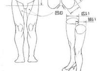 Character Anatomy   Legs / Enjoy a selection of illustrations, sketches, model sheets and tutorials by various artists, collected by Character Design References™ and shown here for educational and inspirational purposes only. Every artwork remain the property of the respective © copyright holders, should inclusion of specific work offend any of you in some way, please contact us on → characterdesignreferences.com