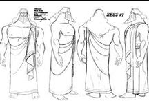 Character Outfit   Greeks & Romans / Enjoy a selection of illustrations, sketches, model sheets and tutorials by various artists, collected by Character Design References™ and shown here for educational and inspirational purposes only. Every artwork remain the property of the respective © copyright holders, should inclusion of specific work offend any of you in some way, please contact us on → characterdesignreferences.com