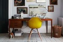 Work Space / A place to work - Interior design / by Book A Flat