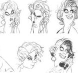 Character Design   Faces (Women) / Enjoy a selection of illustrations, sketches, model sheets and tutorials by various artists, collected by Character Design References™ and shown here for educational and inspirational purposes only. Every artwork remain the property of the respective © copyright holders, should inclusion of specific work offend any of you in some way, please contact us on → characterdesignreferences.com