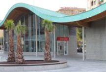Arquitectura de Cobre en España / Te presentamos edificios de toda España que incorporan revestimientos, cubiertas u otros elementos arquitectónicos de cobre o de alguna aleación de cobre como el bronce y el latón.