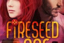 "Fireseed One (My YA futuristic thriller) / 5 stars from Parafantasy: ""Amazing world-building and extremely clever plot! Fireseed One rejuvenated my interest in the sci-fi genre."" -illustrated by the author"