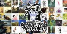 Character Design References / Character Design References™ (CDR) is a webzine dedicated to sequential, illustrative and concept art from animation, games and comics. It is also the largest community of character designers on the Internet. Our visual library here on Pinterest is a collection of designs and tutorials created to help and inspire artists who are dealing with an art-block and are looking for quick references for boosting their own creativity and imagination. Visit us on: www.characterdesignreferences.com