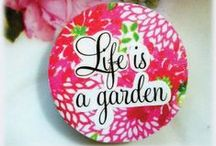 Quotes for Gardeners / Quotes related to gardening which make cool sayings for signs, stepping stones, arts, crafts and gifts